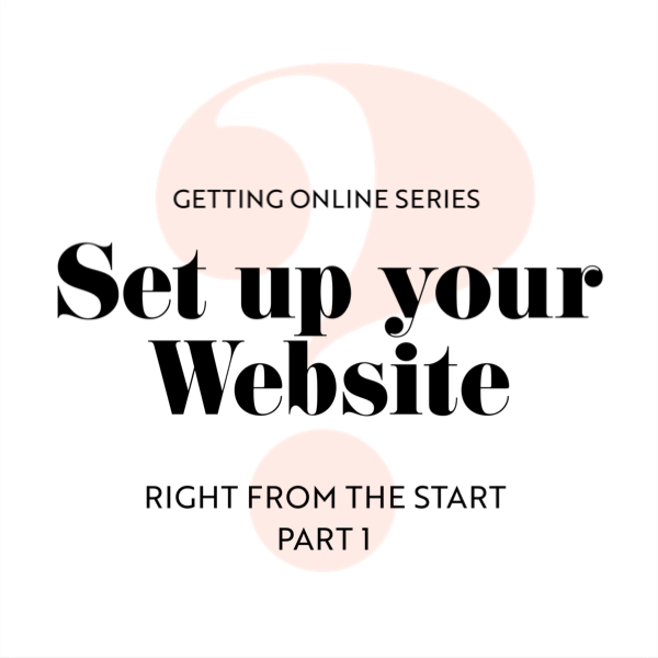Starting a Website from Scratch: Part 1